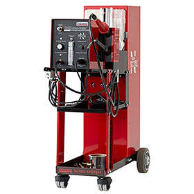 Polyvance Analog Nitro-Fuzer Nitrogen Plastic Welder w/ Cart, Single Gas 8003