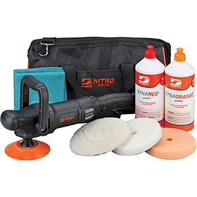 Dynabrade Polisher Kit 50209 with Rotary Buffer RB3