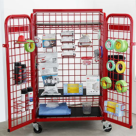 Gear Grid Cart with Paint Kit