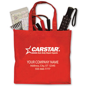 CARSTAR Reusable Vehicle Valuable Bag - Personalized 1 color