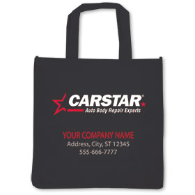 CARSTAR Reusable Vehicle Valuable Bag - Personalized 2 color