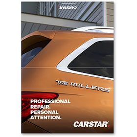 CARSTAR Thank You Card Fold Over - Personal Attention