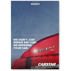 CARSTAR Thank You Card Fold Over - Your Car
