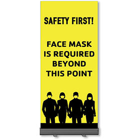 Retractable Banner Stands - Safety First