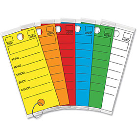 Versa Tags Laminated Key Tags Package