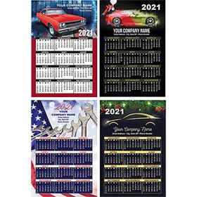 """Automotive Promotional Magnetic Calendar  4"""" x 5.5"""""""