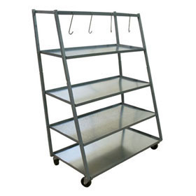 Champ 4 Shelf Parts Rack