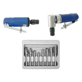Astro Pneumatic Blue Composite Die Grinder Set 1221