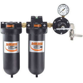 DeVilbiss Clean Air 2-Stage Filtration System