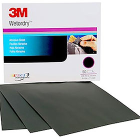 """3M™ Imperial Wetordry 9"""" x 11"""" Paper Sheets P800 02035"""