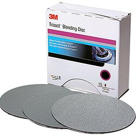 """3M™ Trizact Hookit™ 6"""" Foam Discs P3000 02085"""