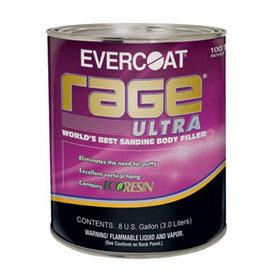 Evercoat Rage Ultra Sanding Body Filler 125