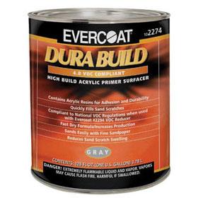 Evercoat Dura Build Acrylic Primer Surfacer Gray 1-Gallon FIB-2274