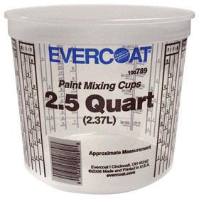 Evercoat Mixing Cups 2.5 Qt. 50/Cs 789