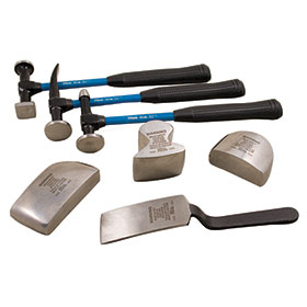 Martin 7-Piece Body & Fender Repair Tool Set with Fiberglass Handles 647KFG