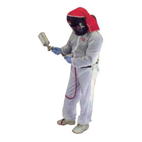 SATA White Automotive Paint Suit