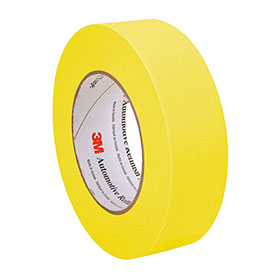 3M™ Masking Tape 388N - 36mm Rolls, 6/sleeve 06654