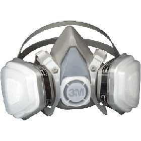 3M™ Disposable Organic Vapor Half Facepiece Respirator - Medium 07192