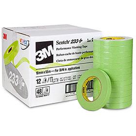 """3M™ Scotch Automotive Refinish Masking Tape 2"""" 12/CS 26340"""