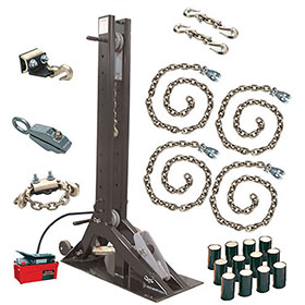 "Champ ""Olympian"" 10-Ton Pulling Post Starter Kit with 4007 Post 4021"