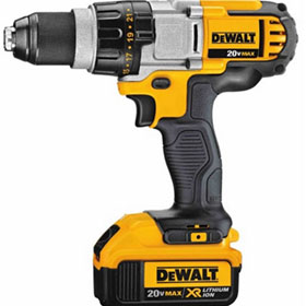 DeWalt 20-Volt MAX Premium Lithium-Ion 3-Speed, 1/2 in. Cordless Premium Drill/Driver Kit (4.0Ah) - DCD980M2