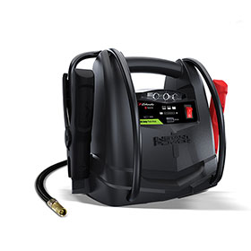 Schumacher Lithium Jump Starter Power Pack with Compressor SL1435