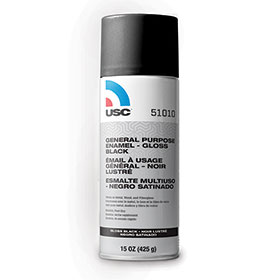 USC General Purpose Enamel - Gloss Black 51010