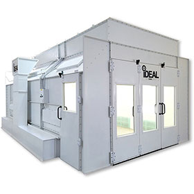 iDEAL Side-Down Draft Paint Spray Booth 3-Phase 230 Volt