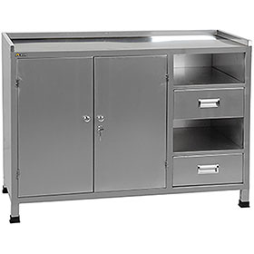Tuxedo iDEAL Paint Storage Mixing Cabinet & Table