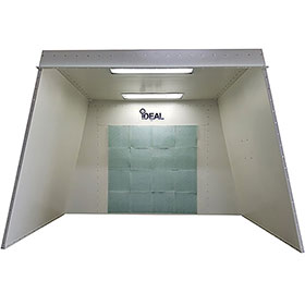 iDEAL Open-Face Paint Booth 3-Phase 230 Volt