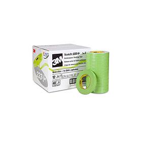 3M™ Scotch Performance Green Masking Tape 233+ (36mm, Case of 16)