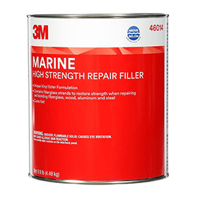 3M Marine High Strength Repair Filler - 1 Gallon, 4/cs - 46014
