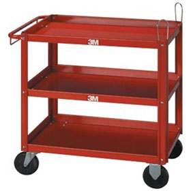 3M™ C.A.R.T.S. Three-Shelf Cart 02510