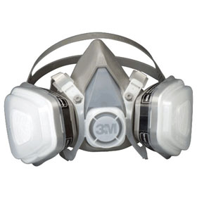 3M™ Disposable Organic Vapor Half Facepiece Respirator