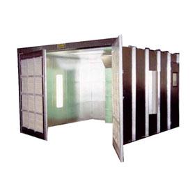 RTT Col-Met Enclosed Industrial Paint Booth