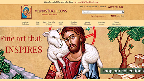 Monastery Icons Website