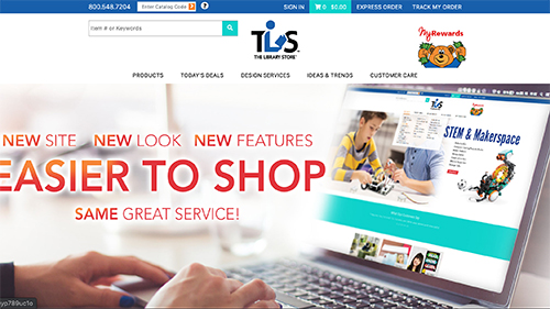 The Library Store Website