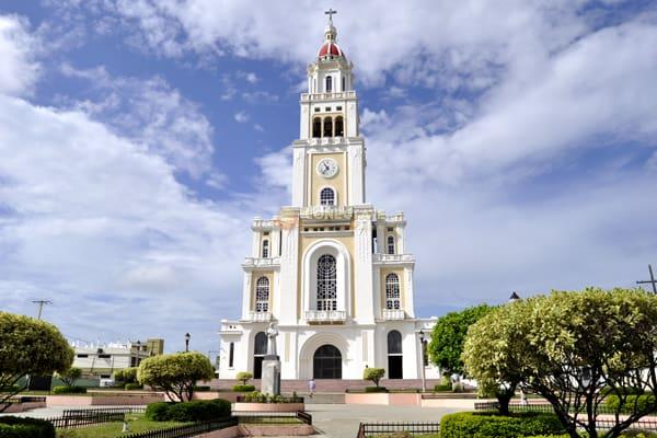 Iglesia Sagrado Corazón De Jesús Moca República Dominicana