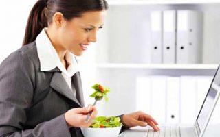 Cómo No Engordar en el Trabajo