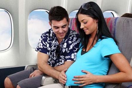 Viajar en Avion Embarazada