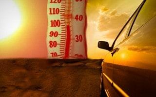 Auto en Verano