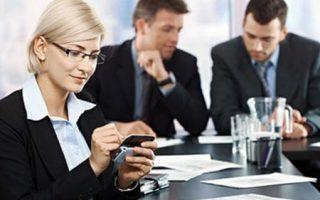 Uso del Telefono Celular en el Trabajo