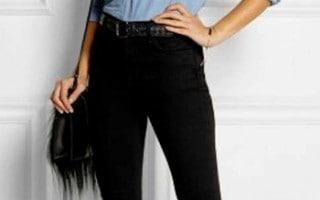 Pantalones de Talle Alto para Mujeres
