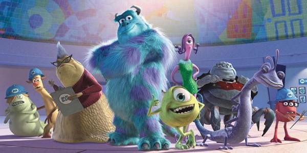 Monsters Inc 2001
