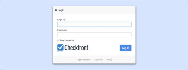 Checkfront Login