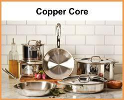 cookware sets allclad copper core