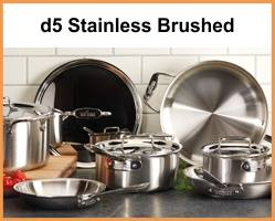 All-Clad d5 Brushed Stainless