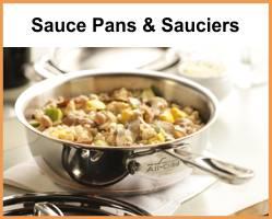 All-Clad Sauce Pans & Sauciers