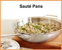 All-Clad Saute & Chef's Pans