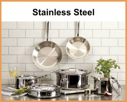 All Clad Professional Cookware Stainless Steel Mc2